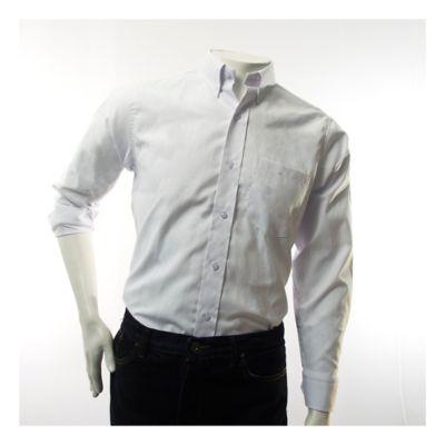 Camisa Dotacion Tipo Oxford Blanca Talla Xl