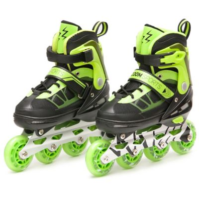 Patines Zoom Electric Verde Talla S (30-33)