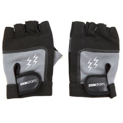 Guantes Gym Zoom Fitness Black Grey Talla XL
