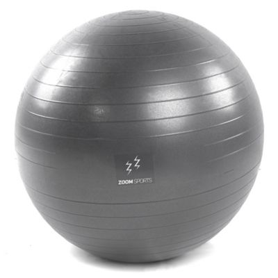 Gymball Zoom Fitness 65 Cm Gris