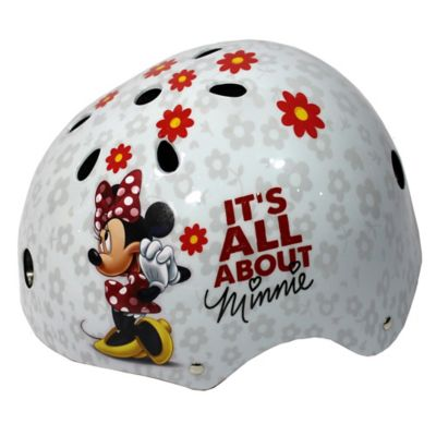 Casco Skate Minnie Talla S (52 -55 Cm)