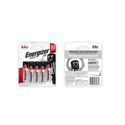 Pilas AA Alcalina Energizer Max x8und