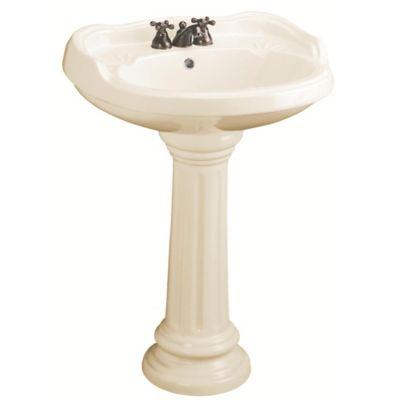 Lavamanos Mazara con Pedestal Beige