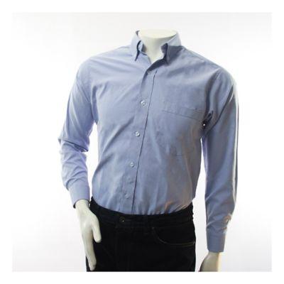 Camisa Dotacion Tipo Oxford Azul