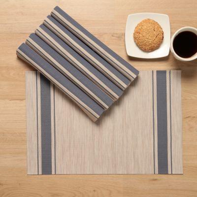 Individual PVC Azul X6 Unidades 30x45cm