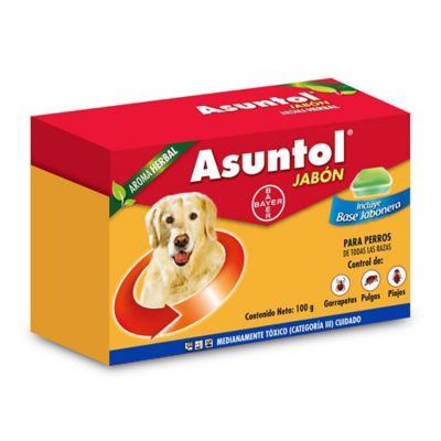 Jabón Asuntol Herbal x 100 Gr Solo Perros