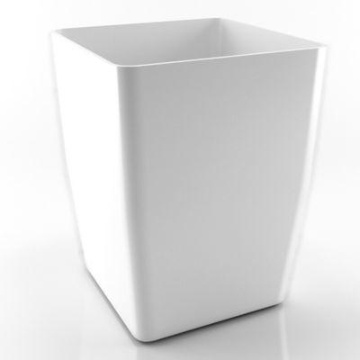 Matera Plástico 100% Reciclado Blanca 40 Cms