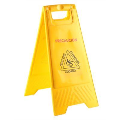 Señal de Prevención Piso Mojado 62x30cm