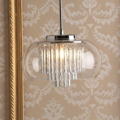Lámpara Colgante Palace 1 Luz G9 Cromo