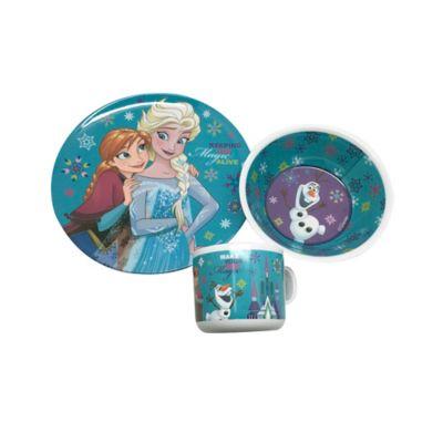 Vajilla 3 Piezas Melamina Frozen