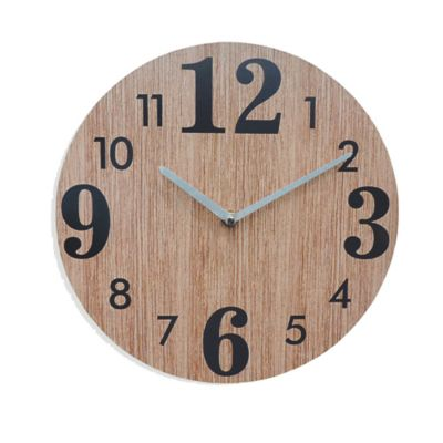Reloj Pared 30 cm Beige Texas