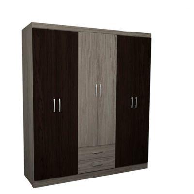 Closet 6 Puertas 2 Cajones 183x162x47cm