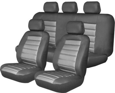 Kit Cubreasiento Negro Gris