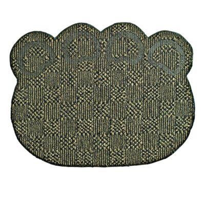 Tapete Antideslizante para Mascotas Huella Cuadros 72 cm x 57 cm