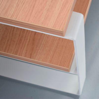 Mesa para TV Vano 120x46x46cm Roble