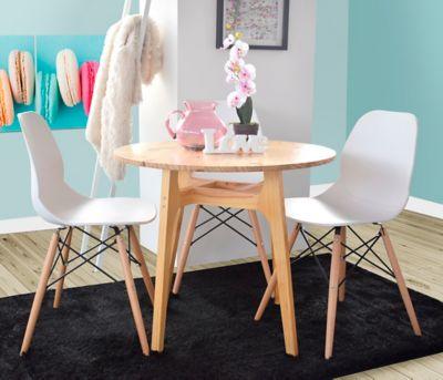 Mesa para Comedor Menta 80x80x70cm Natural