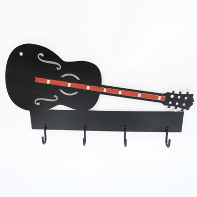 Perchero de Pared Guitarra en Hierro