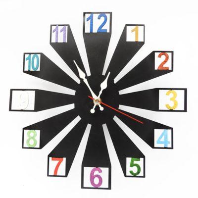 Reloj de Pared Numbers Azul