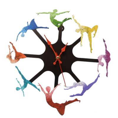 Reloj Bailarinas Negro - Cobre
