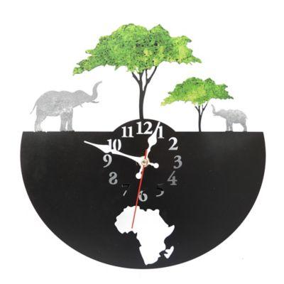 Reloj de Pared América Negro