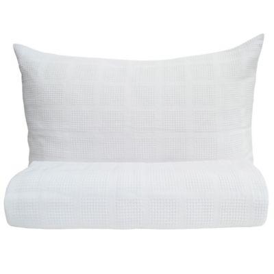 Sobrecama Pique Sencillo 145x230 cm Blanco