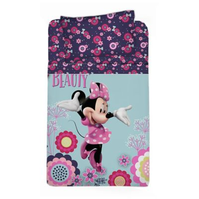 Comforter Semidoble 150 Hilos Minnie Beauty