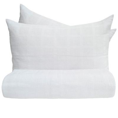 Sobrecama Pique Doble 190x230 cm Blanco