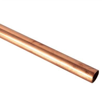 Tubo Cobre L 1/2 Pulgada x 6 Mts. Nacobre