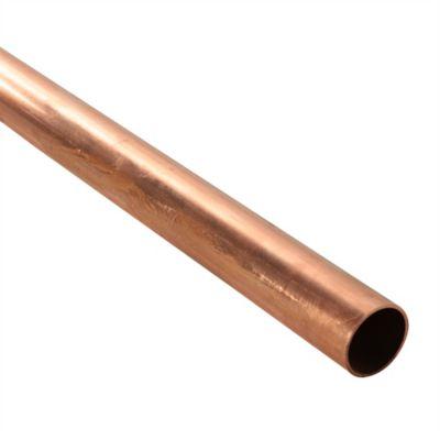 Tubo Cobre L 3/4 Pulgada x 6 Mts. Nacobre