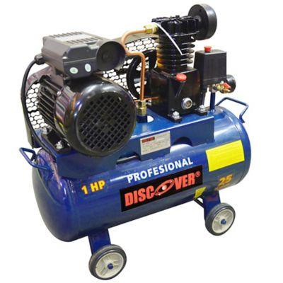 Compresor de Aire Pistón Polea 25 Litros 1.3cfm 1hp
