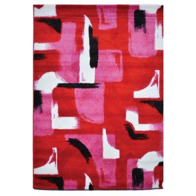 Tapete Pizarra 160x230 cm Rojo
