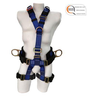 Arnés de Rescate Faja Lumbar 5 Argollas Certificación SGS