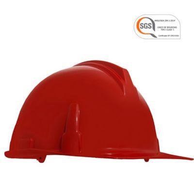 Cascos Industrial Liviano Rojo Setx12
