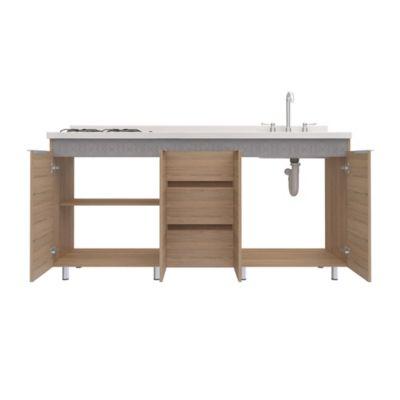 Mueble inferior Cocina 1.8 Print 88x179.4x51.3 Centímetros Rovere