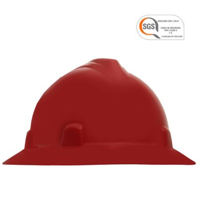 Cascos Imperio Rachet Dieléctricos Rojo Setx12