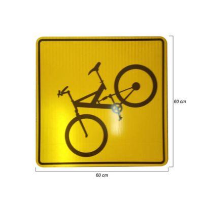 Tablero Señales Reglamentarias de 60cm Reflectivo Tipo 4