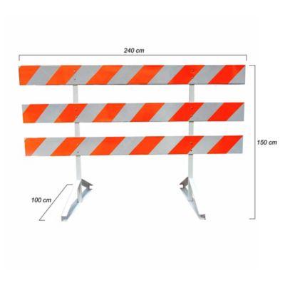 Barricada Metálica de 1,5x2,4mt