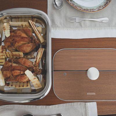 Juego Refractaria + Cubiertos para Servir 3 Piezas 39 x 25 x 6 cm