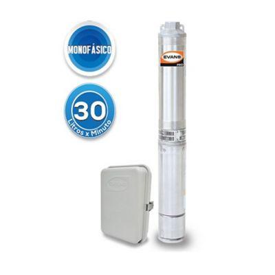 Bomba Sumergible Monofásica para Pozo Profundo 4 pulg - 10 GPM - 0.5 HP