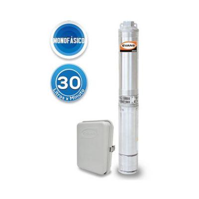 Bomba Sumergible Monofásica para Pozo Profundo 4 pulg - 10 GPM - 1 HP