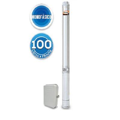 Bomba Sumergible Monofásica para Pozo Profundo 4 pulg - 45 GPM - 3 HP