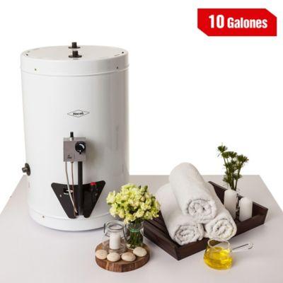 Calentador de Acumulación 10 Galones a Gas Natural Blanco