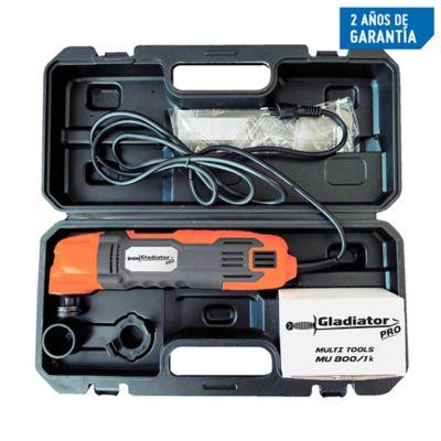 Kit Herramienta Multifuncional Multitool 280W 19000Rpm 20 Piezas + Maletín