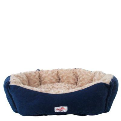 Cama Mascotas Pequeñas 50 cm x 50 cm Azul