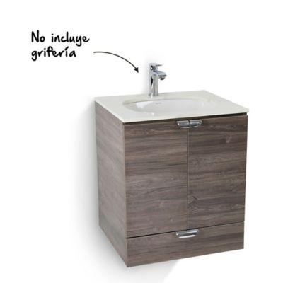 Mueble de baño Cascade con lavamanos Incrustar Petite