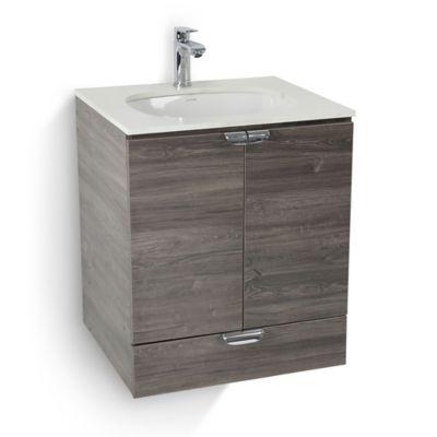 Mueble de baño Cascade con lavamanos Incrustar