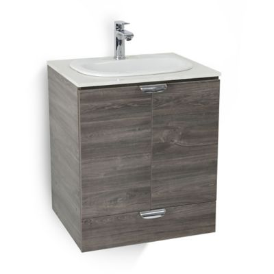 Mueble De Baño Cascade Con Lavamanos Sobreponer