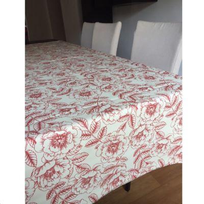 Mantel 146x180cm Rosas Rojas