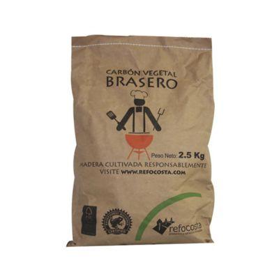 Bolsa de Carbón Vegetal Brasero de 2.5 kg