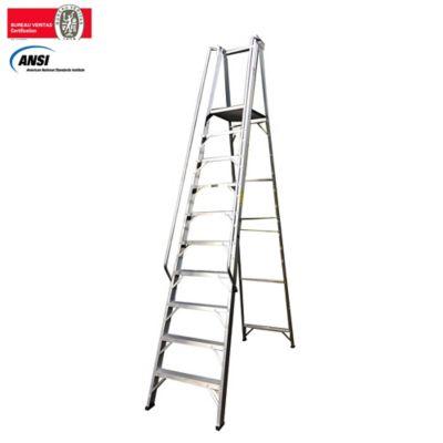 Escalera Tipo Plataforma en Aluminio de 3,00 Metros Tipo IA de 136 Kilogramos de Resistencia
